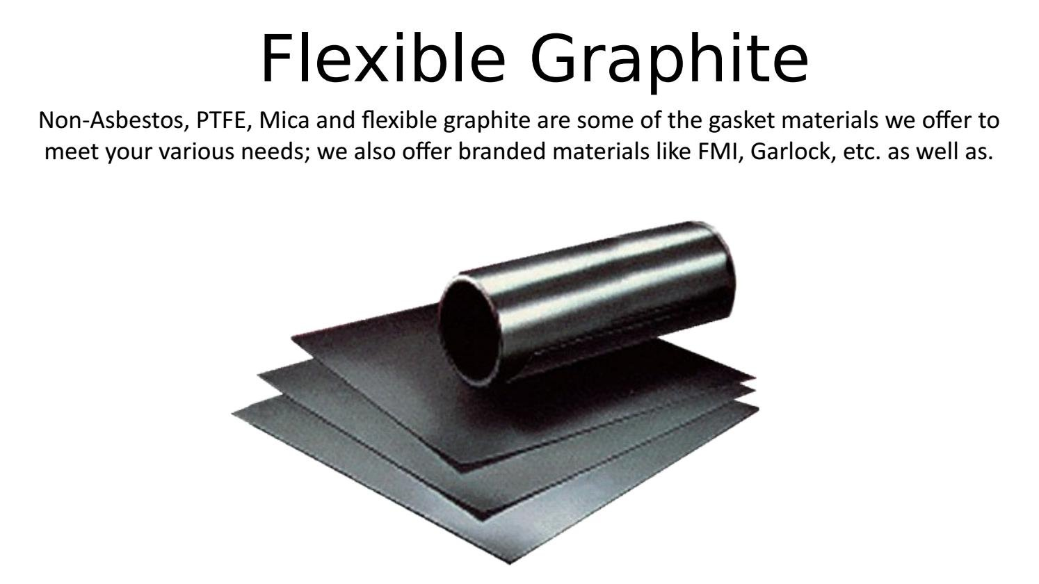Flexible Graphite Gasket Material, 3