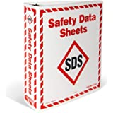 GHS Safety INCOM Manufacturing: GHS1008 WHMIS 2015 Safety Data Sheets (SDS) Storage Binders, 1.5 Inch Wide, A - Z…