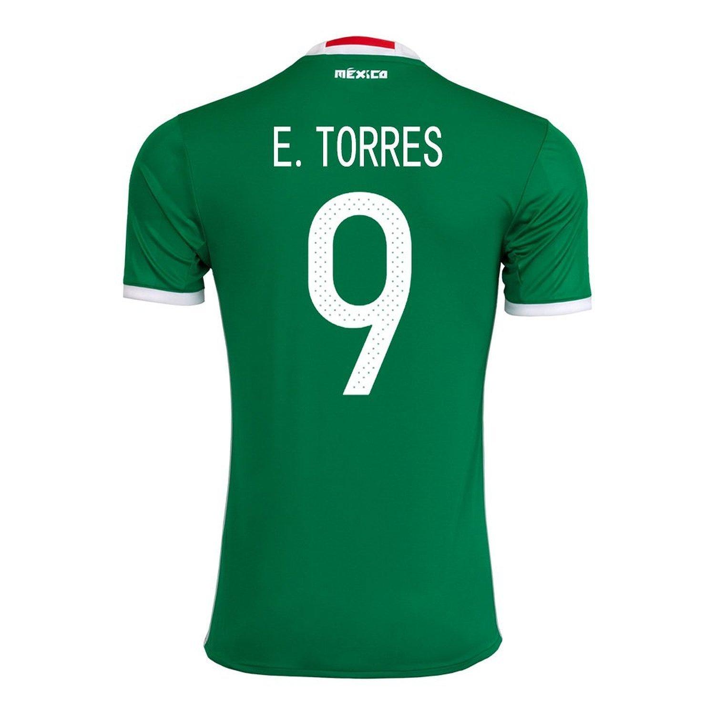 E. Torres #9 Mexico Home Jersey Copa America Centenario 2016 / サッカーユニフォーム メキシコ ホーム用 B01FIS1RGE Small