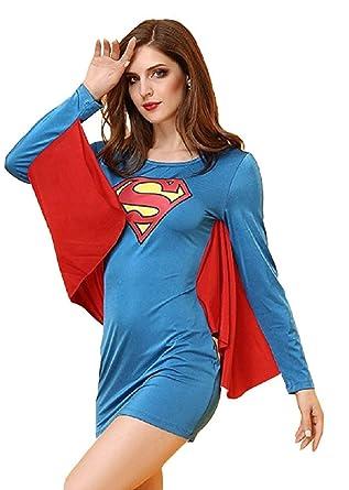 Peachi AD002 Disfraz de Fiesta de Halloween Inspirado en Supergirl ...