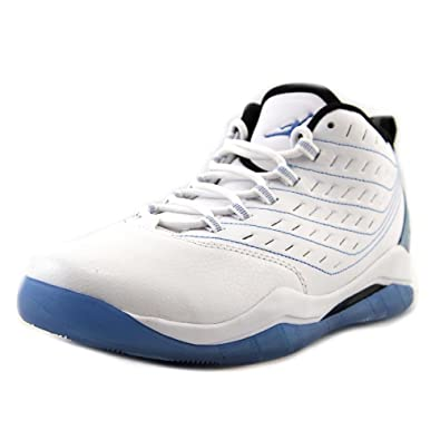 buy popular 73372 0a91b Image Unavailable. Image not available for. Color  Jordan Velocity BG Youth  US 7 White Basketball Shoe UK 6