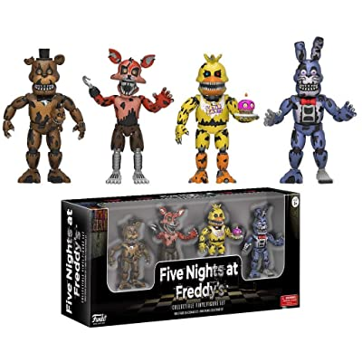 "Funko Five Nights at Freddy's 2"" Nightmare Edition Vinyl Figure Four Pack: Funko 2 Vinyl Figures:: Toys & Games"