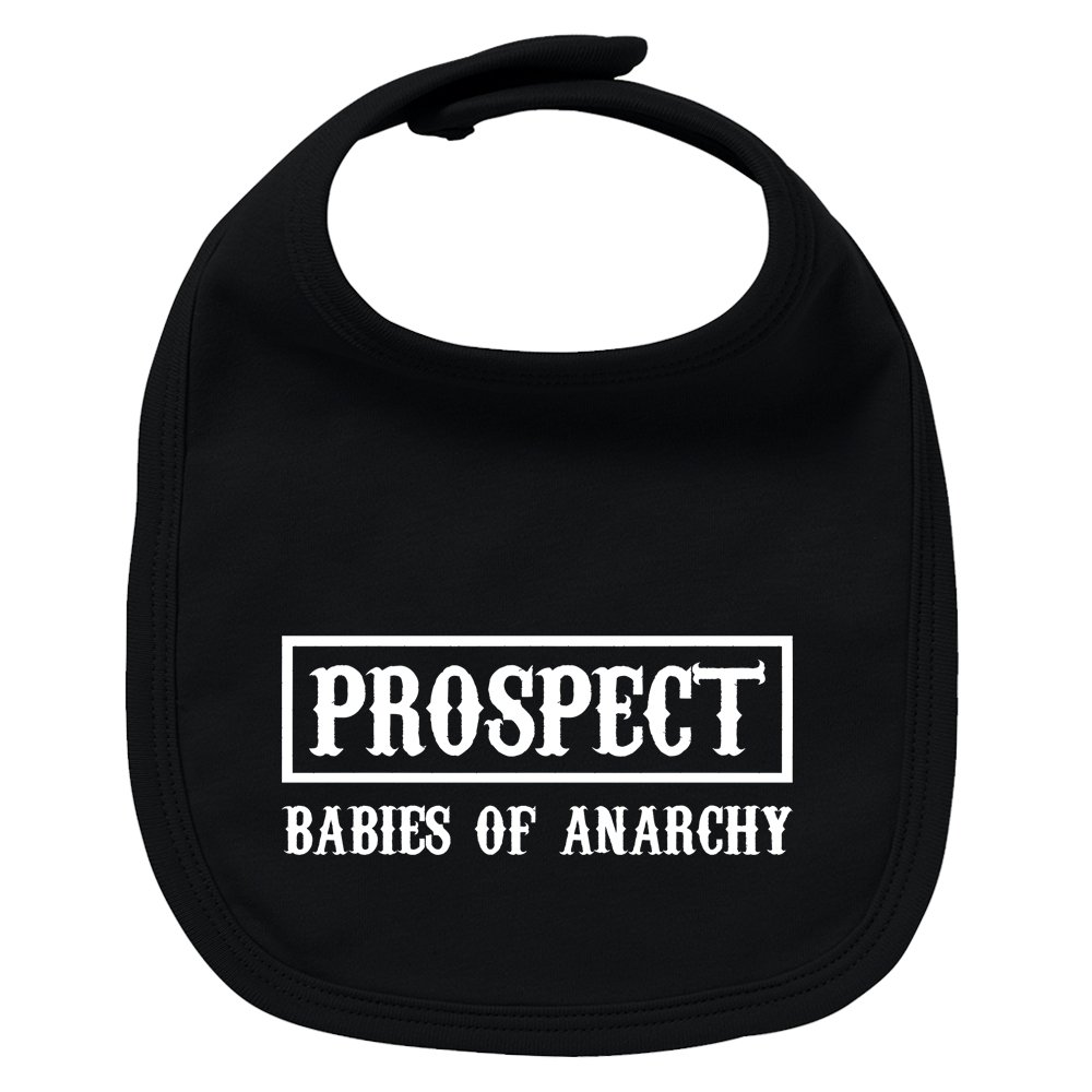 Babero de bebé Prospect (Sons of anarchy - parodia). Regalo original. Babero bebé divertido. Bebé friki.