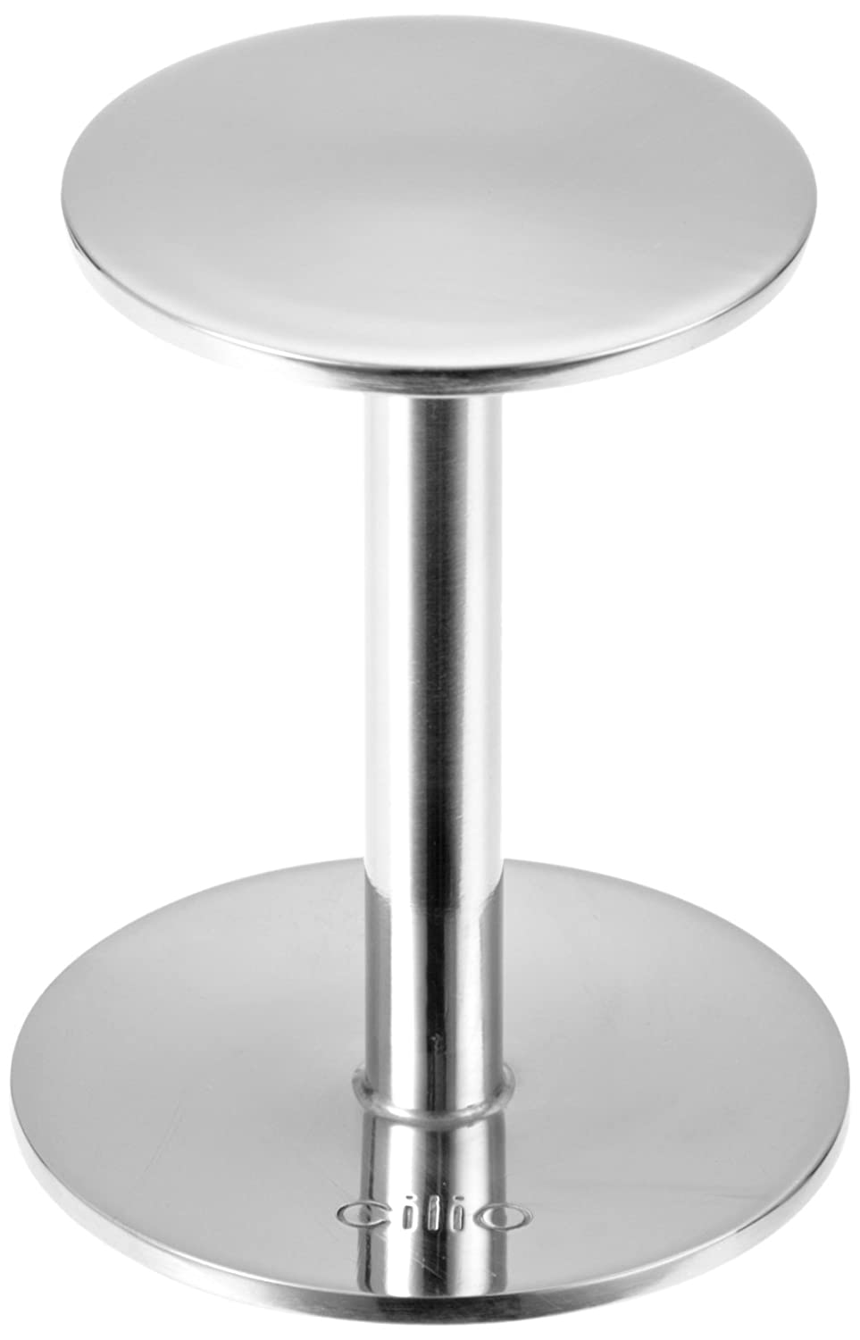 Cilio: Premium Espresso Tamper/Press/Stamp in Stainless Steel with Double Heads 200522
