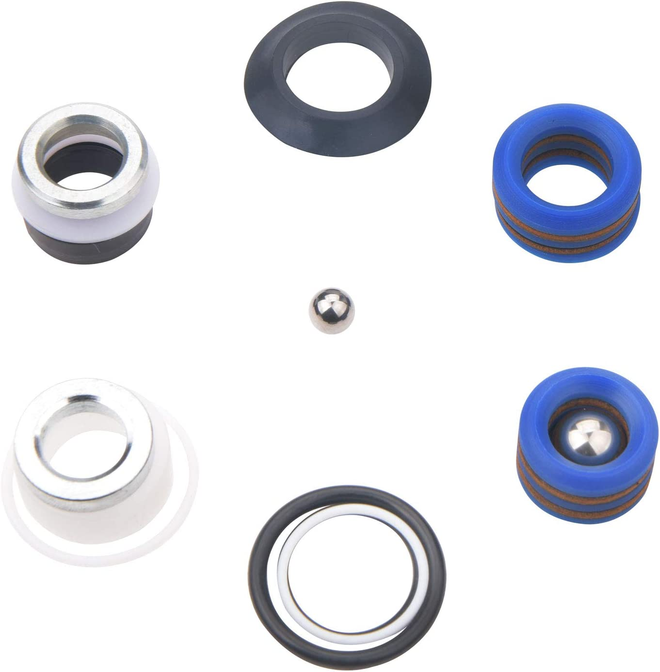 GDHXW 244194 Pump Repair Packing Kit for Graco Ultra Max II 390 395 490 495 595 LineLazer 3400 Aftermarket Airless Paint Sprayer