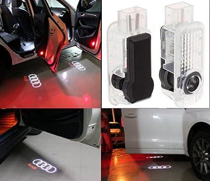 jdwg 1 par coche lámpara de proyector de LED puerta fantasma ...