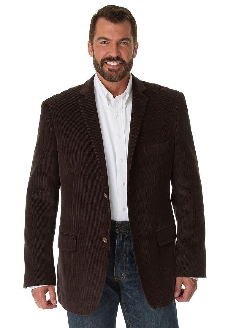 KingSize Men's Big & Tall Corduroy Blazer by Ks Signature, Brown Big-54 25716630750mk54~54