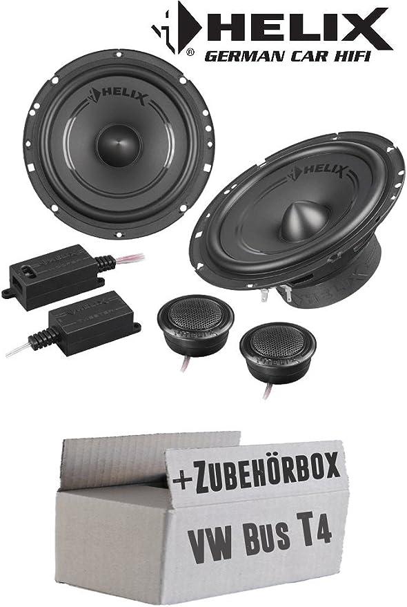 Lautsprecher Boxen Helix F 62c 16cm 2 Wege System Auto Einbauzubehör Einbauset Für Vw Bus T4 Front Facelift Just Sound Best Choice For Caraudio Navigation