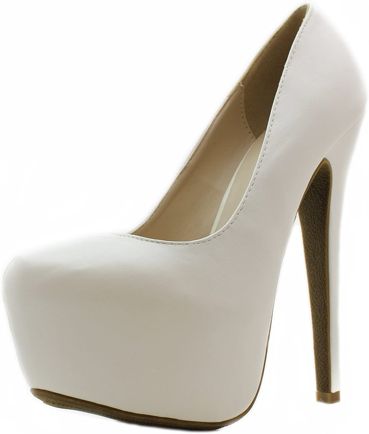Details about  /Womens Stiletto Super High Heels Lace Up Patent Leather Round Toe Platform Shoes