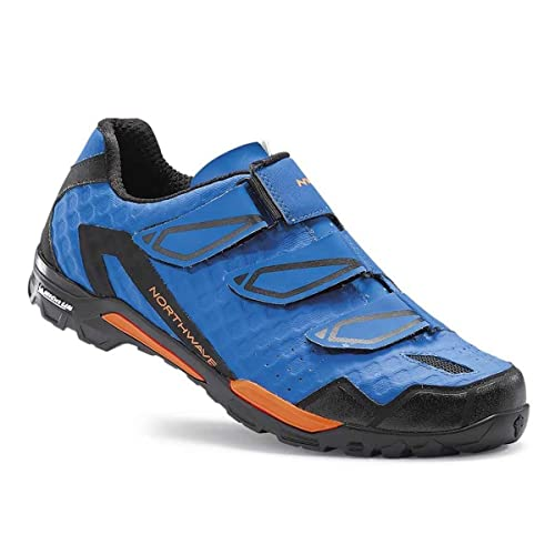 Zapatillas MTB Northwave 2018 Outcross 3V Azul: Amazon.es: Zapatos y complementos