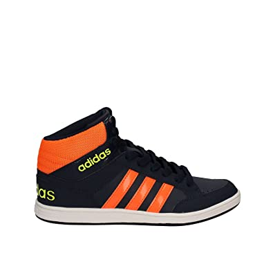 d21c9956c12ecc adidas neo Hoops MID K Schuhe Kinder Sneaker Turnschuhe Blau B74655 ...