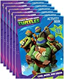 Nickelodeon's Teenage Mutant Ninja Turtles Coloring and Activity Book with Stickers (Pack of 6)