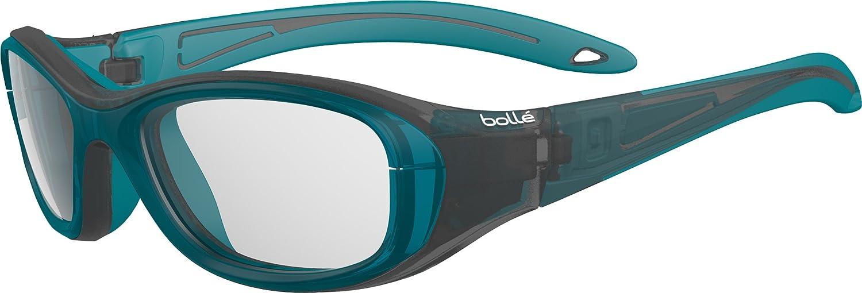 Black//Turquoise Bolle Serengeti Eyewear 12382 Bolle Coverage Platinum Sunglasses