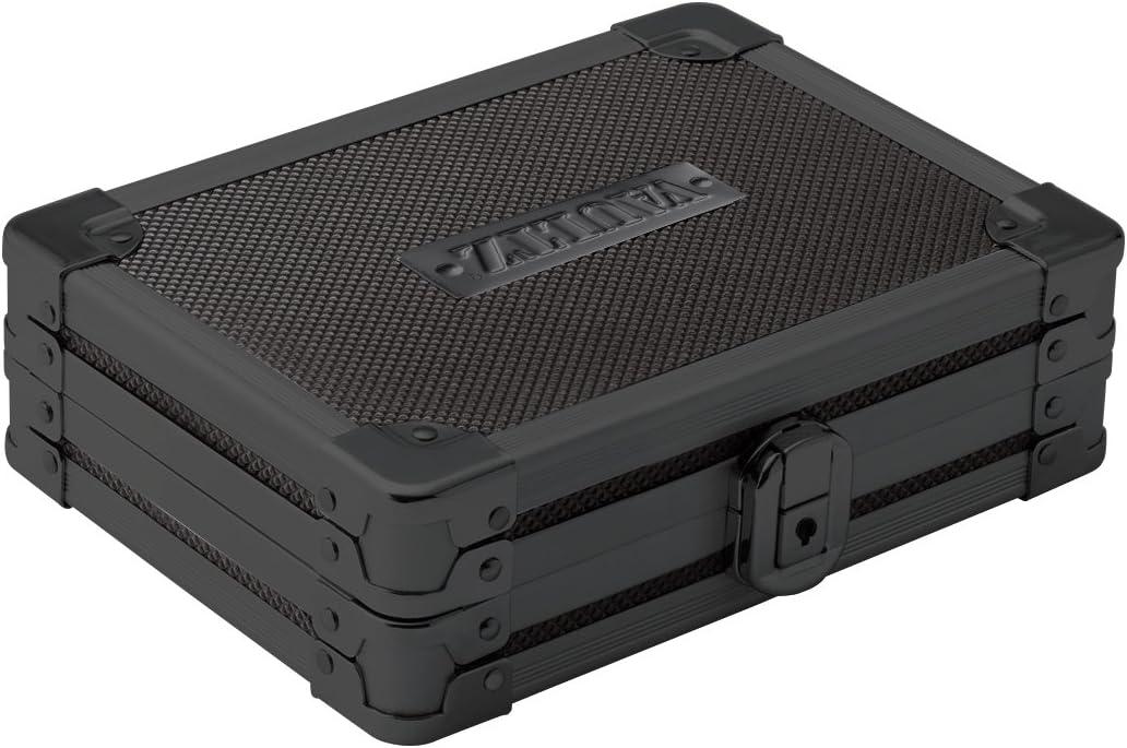 Vaultz Locking Mini Utility Box, 1.75 x 4.5 x 5.75 Inches, Tactical Black (VZ03488)