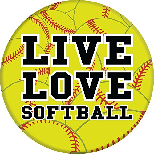 Brave New Look Live Love Softball PopSockets Cell Phone ...