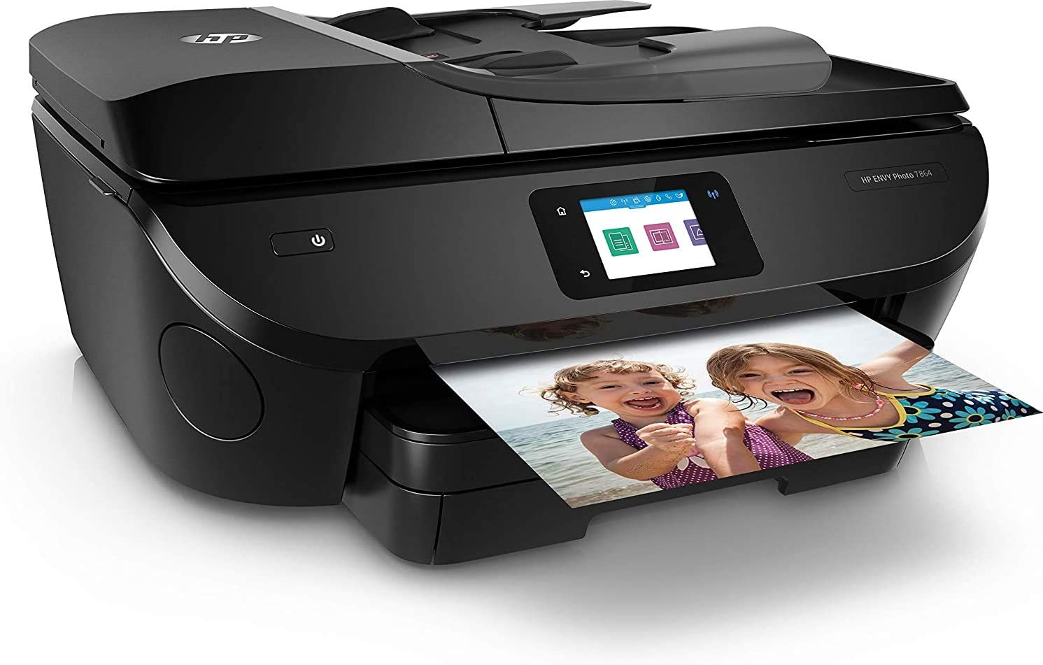 HP Envy Photo 7864 All-in-One Inkjet Printer, Scan, Copy and Fax with Mobile Printing Capability, K7S01A (Renewed)