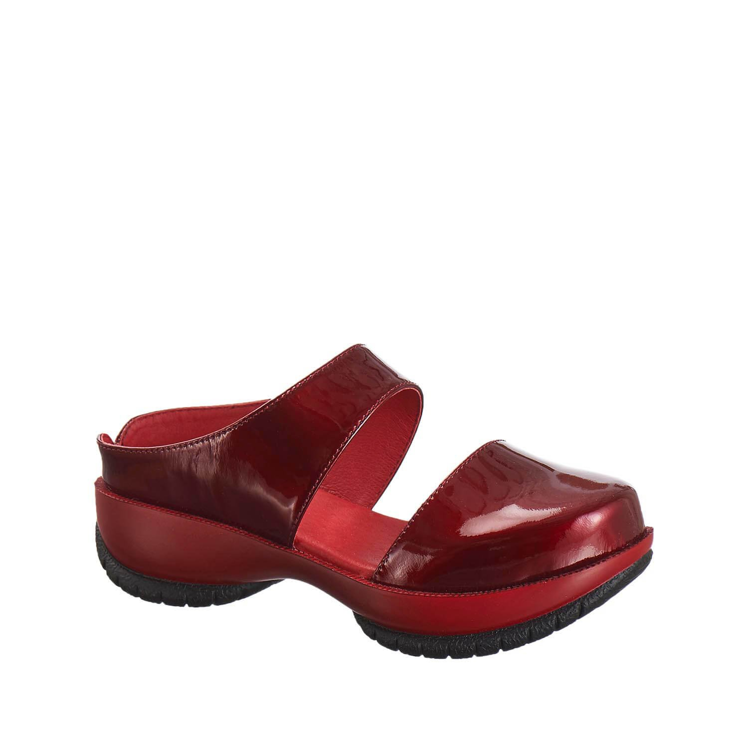 Antelope Women's 302 Patent Leather D'orsay MOD Clogs