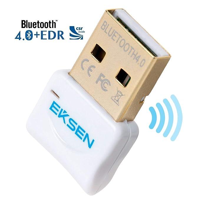 49 opinioni per Bluetooth CSR 4.0USB Dongle, Ekson Bluetooth trasmettitore e ricevitore per