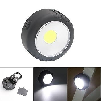 Hunpta Ronde Lumière LedAlimentation Led Par Batterie Cob lKcFT1J3