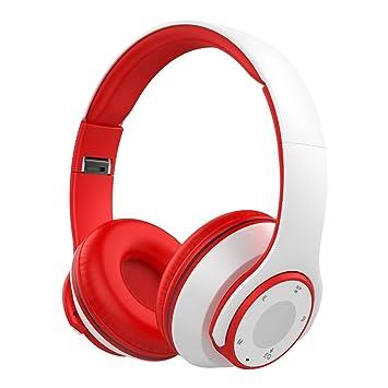 nicksea Ear auriculares Bluetooth 4.0 over-ear auriculares estéreo Hi-Fi plegable auriculares inalámbricos sudor prueba con micrófono para correr llamadas ...