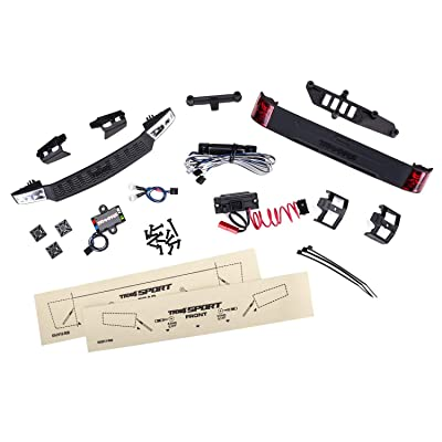 Traxxas TRA8085 LED Light Kit, w/Power Supply: Fits #8111 Body: Toys & Games