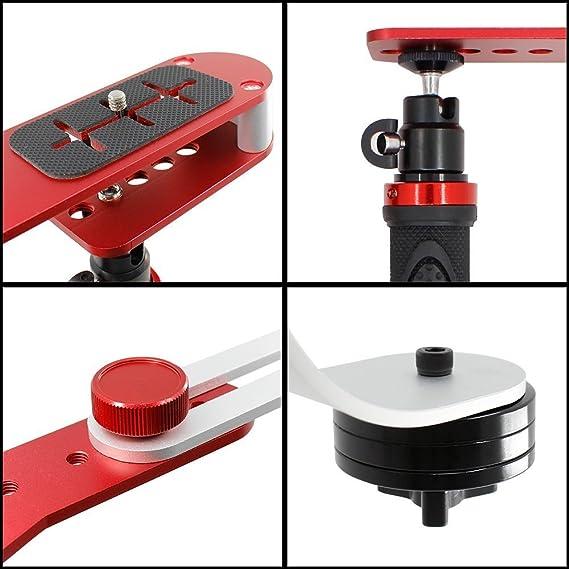 Pro Video Stabilizing Handle Grip for Epson PhotoPC 3000 Zoom//Epson C900Z Vertical Shoe Mount Stabilizer Handle
