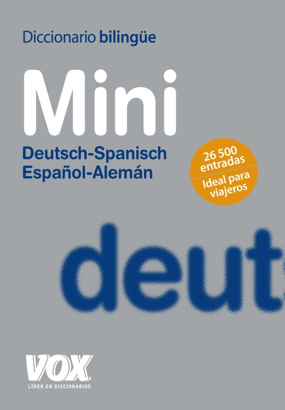 Download Diccionario mini español-alemán/deutsch-spanisch pdf epub