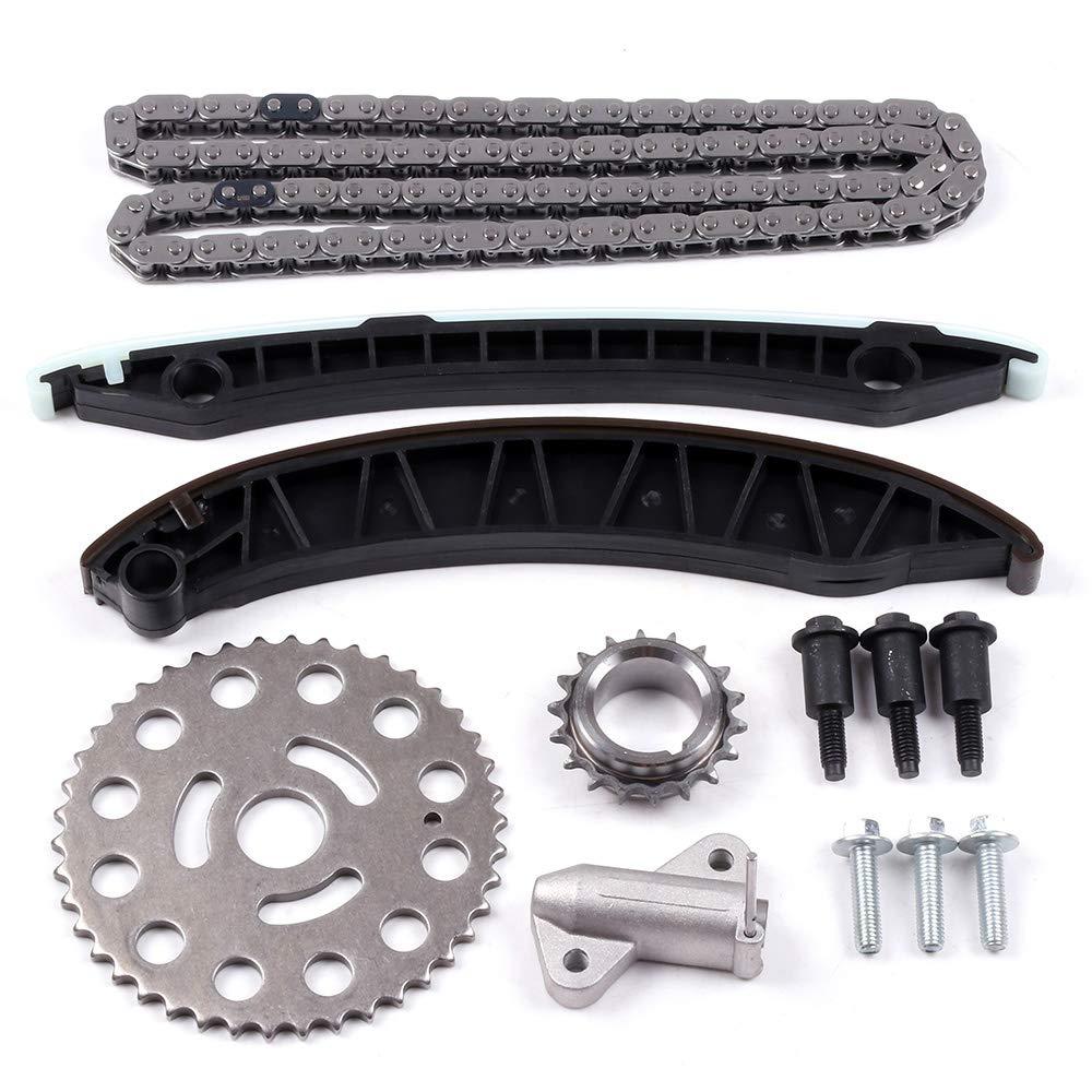 Amazon.com: SCITOO KB-34 Timing Chain Kit Tensioner Guide Rail Cam Gear Crank Gear Compatible 07-11 Nissan Qashqai X-Trail Renault Vauxhall 2.0L CDTI: ...