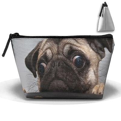 MASDUIH Bulldog Face Hand Bag Pouch Portable Storage Bag Clutch Handbag