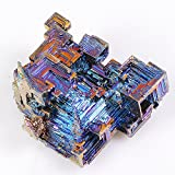 Yuanxi Natural Bismuth Crystal Rainbow Style Crystal Quartz Cluster Home Decoration Gemstone Specimen With 2 inch