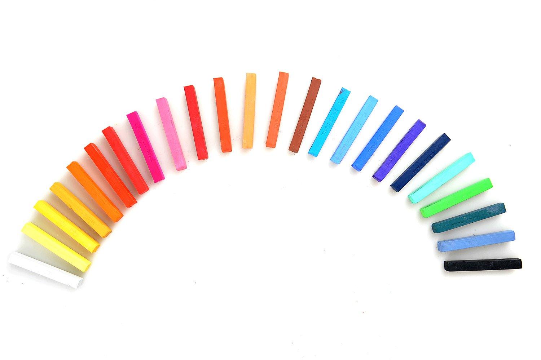 Pastelli professionali in 24 colori, Mod. F-2024