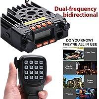 Sedeta QYT KT-8900 Mobile VehicleTransceiver Dual-Band VHF UHF Car/Trunk Ham Handheld CB Two Way Radios 25W black