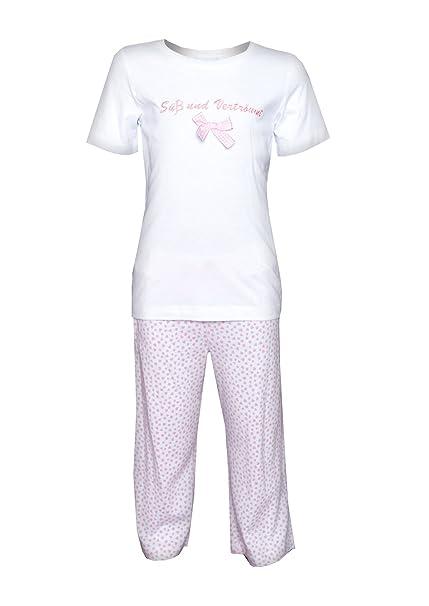 Louis & Louisa - Pijama - para niña blanco 116/122 cm