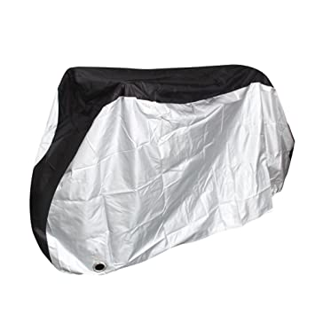 New Bike Cover Outdoor Waterproof Bicycle Cover Rain Sun UV Dust Lock Hole XL