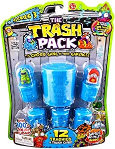 Amazoncom Moose Toys Series 3 The Trash Pack 12Pack Toys  Games