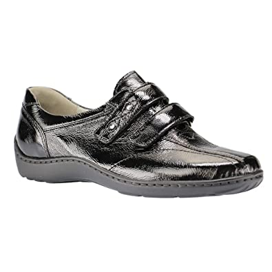 Chaussures à scratch Waldläufer noires Casual homme Jeu 100% Authentique BScDNs