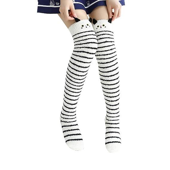 2019 Descuento Calcetines Mujer Calcetines De Mujer Grueso Pesado Invierno Cálido Lindo Fuzzy Floor Sock: Amazon.es: Ropa y accesorios