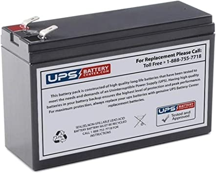 APC Back-UPS Office 350VA BF350 UPSBatteryCenter RBC10 Compatible Replacement Battery