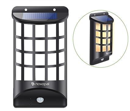 Solar Luz de LED con Sensor de Movimiento para Exterior, Impermeable Iluminación Exterior Lámparas Solares
