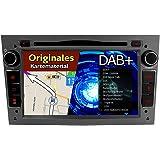 IAUCH 7 Inch Touch Screen HD WinCE 6.0 Dark Grey Car Stereo with DVD Player GPS Navigation Bluetooth Radio Sat Nav for OPEL Corsa Antara Astra Vectra Meriva Zafira Vivaro