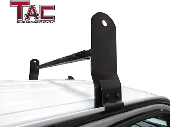 Amazon Com Tac Universal 2 Bars Roof Ladder Rack Fit Van With Rain Gutter 600 Lbs Capacity Utility Adjustable Cross Bar With Stopper For Kayak Canoe Ladder Lumber Pipes Cargo Carrier Accessories Automotive