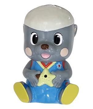 Amazon ポコポッテイト ムテ吉のおふろで水ピュッピュ ソフビ人形
