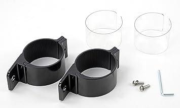Universell Passende Schwarze Aluminium Rohrschelle O 75 Bis 78mm Fur
