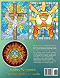 Stained Glass Windows 2: 50 Mind Calming And Stress Relieving Patterns (Coloring Books For Adults) (Volume 18)