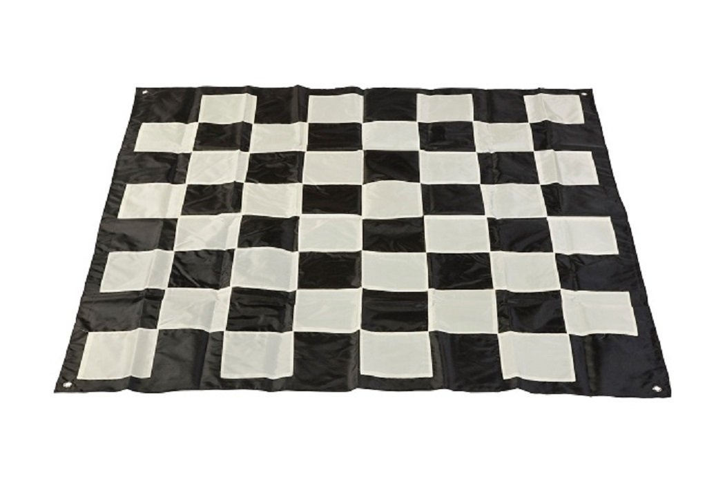 Uber Games Plastic Giant Chess Set with Nylon Mat