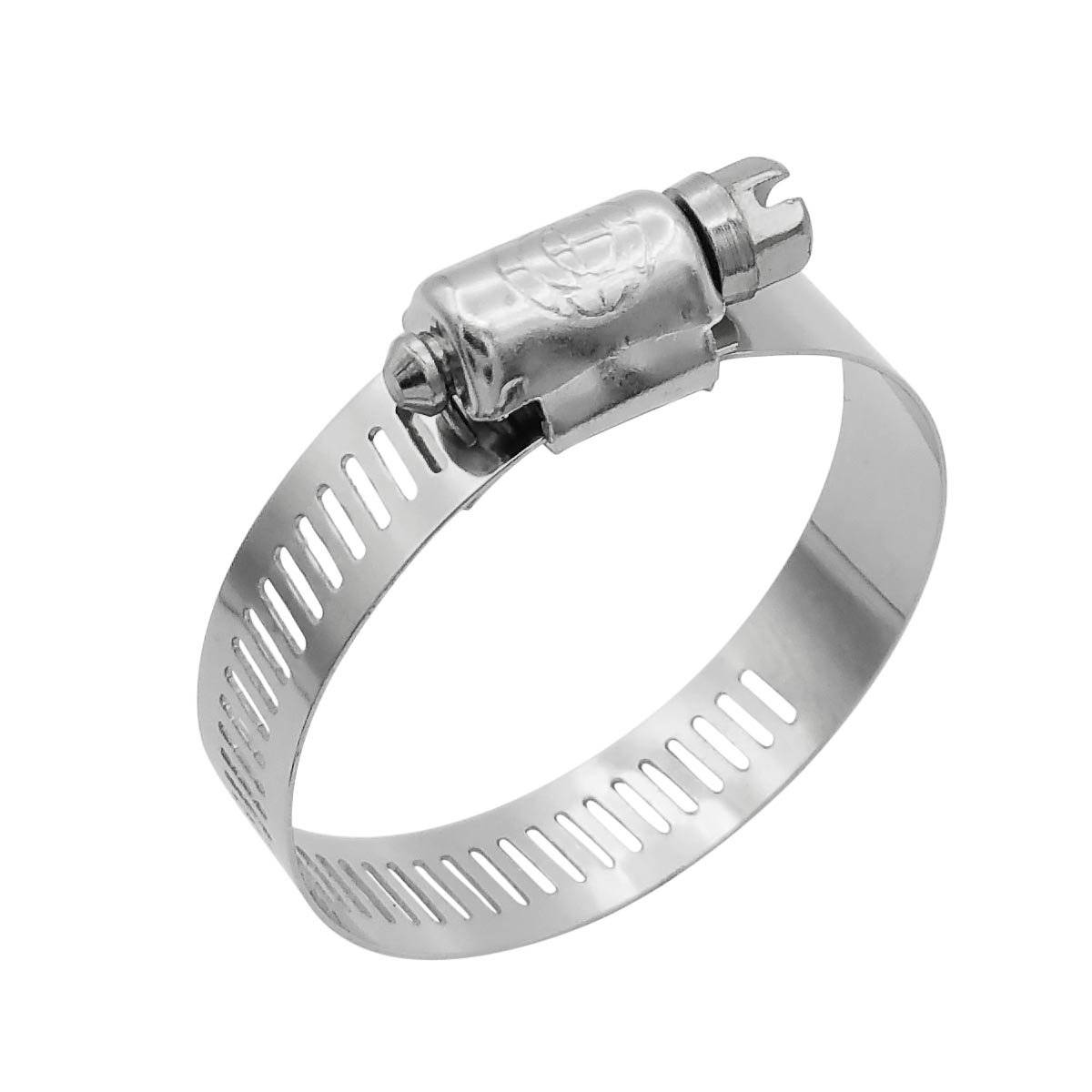 Box of 10 Minimum Diameter 2-1//16 Cambridge SAE Size 40 Worm Gear Hose Clamp ALL Stainless Steel Maximum Diameter 3 1//2 Band Width
