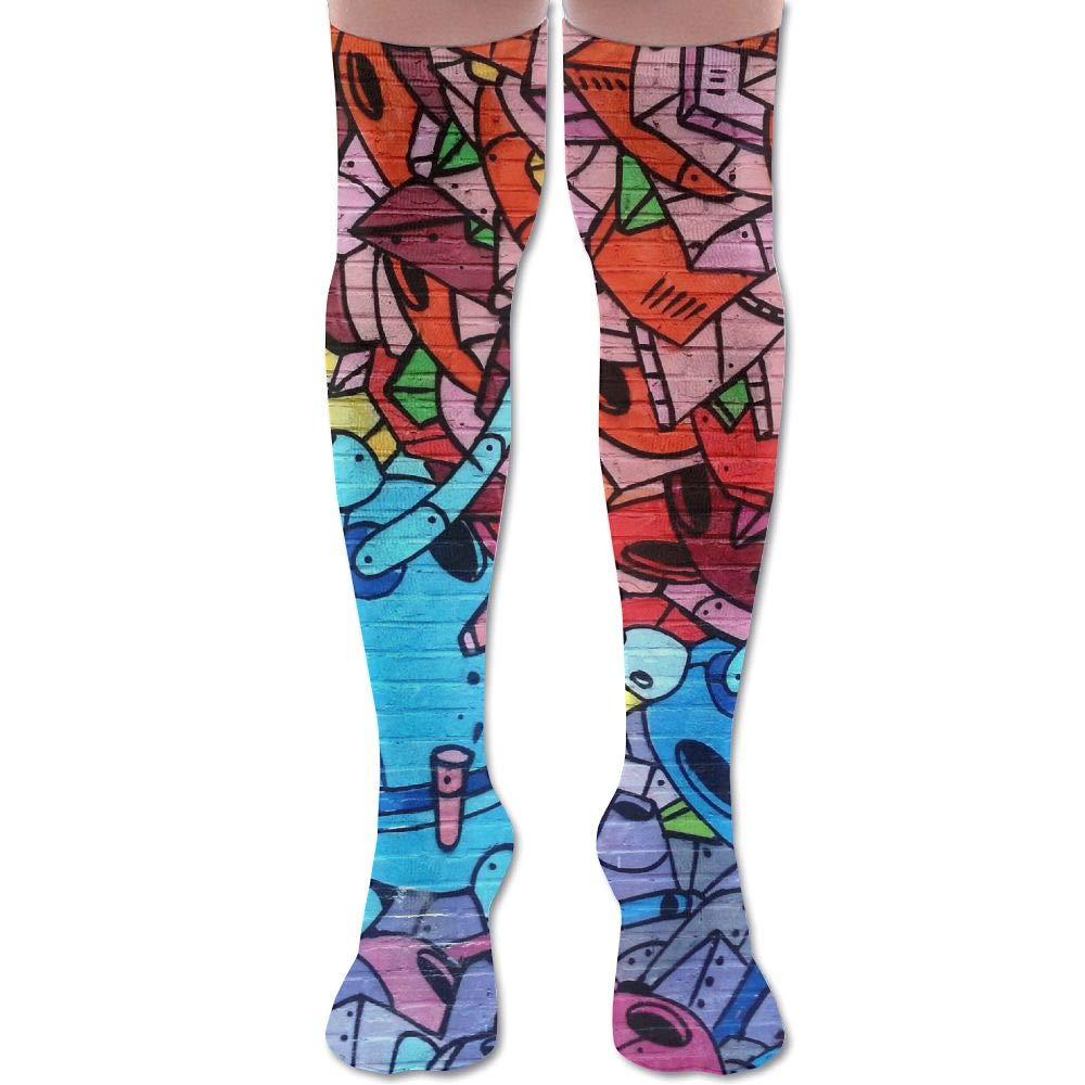 Buecoutes227245 Womens Over Knee High Stockings 60 Cm Long Tube Socks Sport Socks