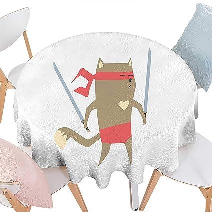 Amazon.com: Cheery-Home Spring & Summber Tablecloth duitable ...