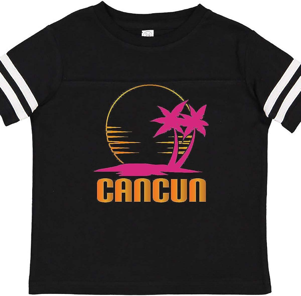 inktastic Cancun Mexico Sunset Toddler T-Shirt