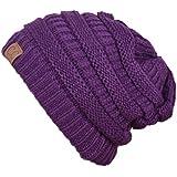 PL49_(US Seller)Winter Warm Hat Knit Beanie Hat